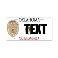 Oklahoma Firefighter Custom License Plate