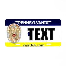 Pennsylvania Firefighter Custom License Plate