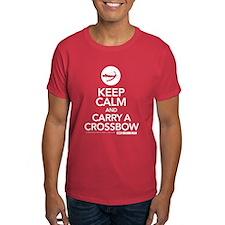 Keep Calm Carry a Crossbow T-Shirt
