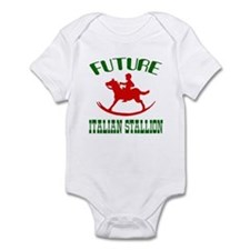 Future Italian Stallion Infant Creeper