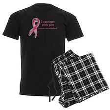 I wear pink for customized Pajamas