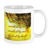 Love the Lord thy God Small Mug