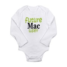 Unique Computer geek Long Sleeve Infant Bodysuit