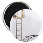 Ladder to Shuttered Window Magnet