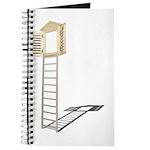 Ladder to Shuttered Window Journal