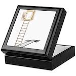 Ladder to Shuttered Window Keepsake Box