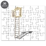 Ladder to Shuttered Window Puzzle