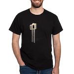 Ladder to Shuttered Window Dark T-Shirt