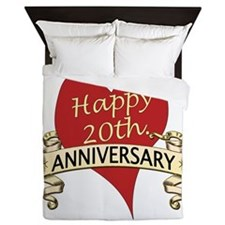 Cute Twentieth anniversary Queen Duvet