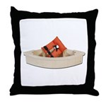 Life Vest Boat Throw Pillow