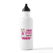 Wear Pink 4 Mom Water Bottle