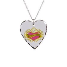 KPOP PRINCESS Necklace Heart Charm
