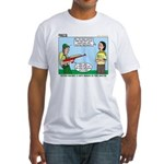 Rifle Shooting Fitted T-Shirt