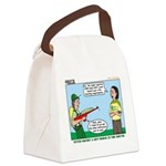 Rifle Shooting Canvas Lunch Bag