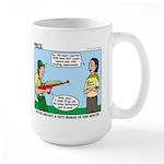 Rifle Shooting Large Mug