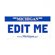 Current Michigan License Plate Replica
