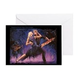 Seduction by Strings Greeting Card