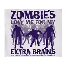 Zombies Love Me for my Extra Brains Stadium Blank