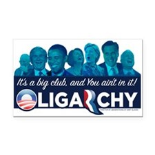 Oligarchy Rectangle Car Magnet