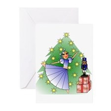 Clara and Nutcracker Greeting Cards (Pk of 10)