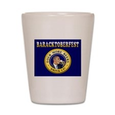 Oktoberfest Is Baracktoberfest Shot Glass