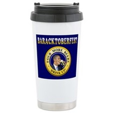 Oktoberfest Is Baracktoberfest Ceramic Travel Mug