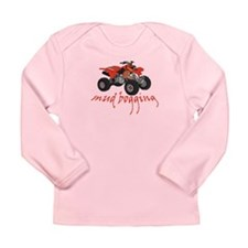Mud Bogging ATV Long Sleeve Infant T-Shirt