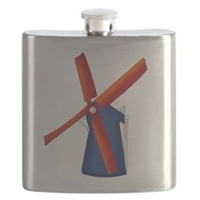 Dutch Windmill Flask