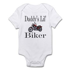 Daddy's lil' Biker Infant Creeper