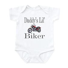 Daddy's lil' Biker Infant Creeper