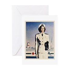 Navy Nurse Greeting Card