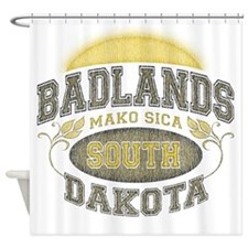 Badlands Shower Curtain
