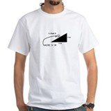 Problem solved Mens White T-shirts