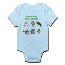 Cool Jesus horse Infant Bodysuit
