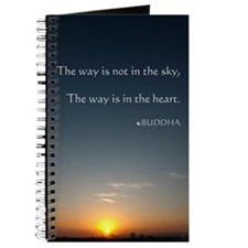 Buddha Spiritual Saying Poster Journal