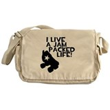 Jam Packed Life Messenger Bag