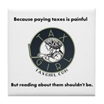 Taxgirl Tile Coaster
