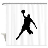 Dunk Shower Curtain