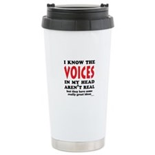Voices In My Head Ceramic Travel Mug