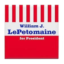 William J. LePetomaine - Tile Coaster