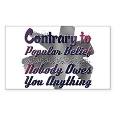 35 Slogans in Purple Cork Coaster