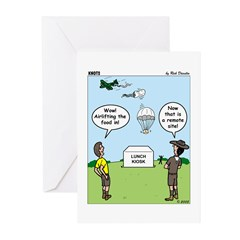 Lunch Airlift Greeting Cards (Pk of 20)