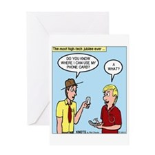 New Technology Greeting Card