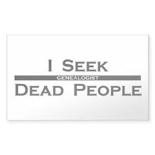 I Seek Dead People Decal