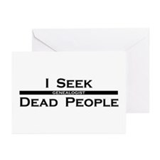 I Seek Dead People Greeting Cards (Pk of 20)
