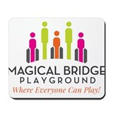 Magical Bridge Playground Mousepad