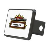 World's Greatest Archivist Rectangular Hitch Cover