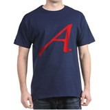 Atheism Scarlet Letter A Symbol T-Shirt