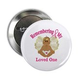 "Remembrance Angel 2.25"" Button"
