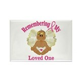 Remembrance Angel Rectangle Magnet (10 pack)